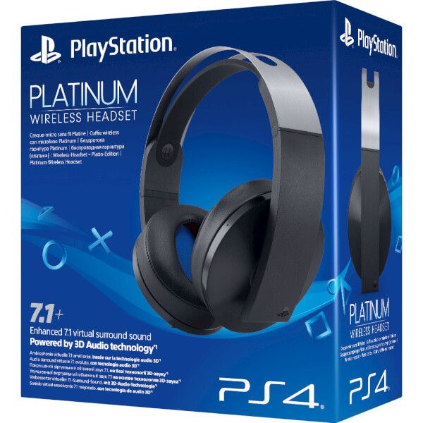 Casti Sony PS4 Stereo Wireless Platinium