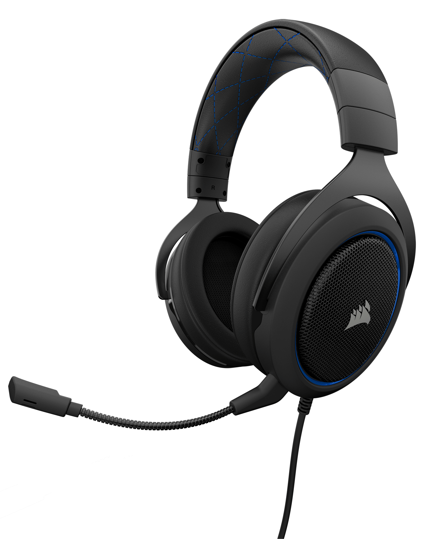 Casti Gaming Corsair HS50 Stereo Blue