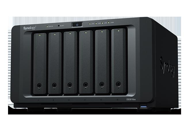 NAS Synology DS3018xs 4xGigabit RAM 8GB fara HDD-uri
