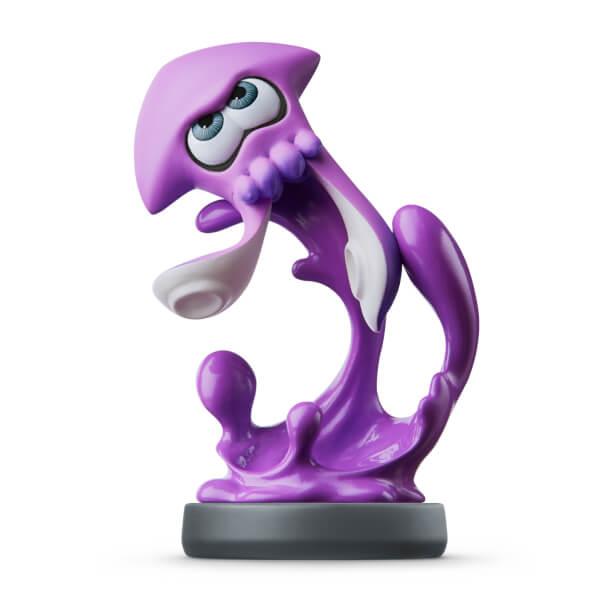 Figurina Amiibo Purple Squid (splatoon)