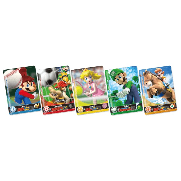 Mario Sports Superstars Amiibo Cards