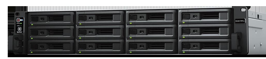 NAS Synology RackStation RS3617RPxs 4xGigabit RAM 8GB fara HDD-uri (no rail kit)