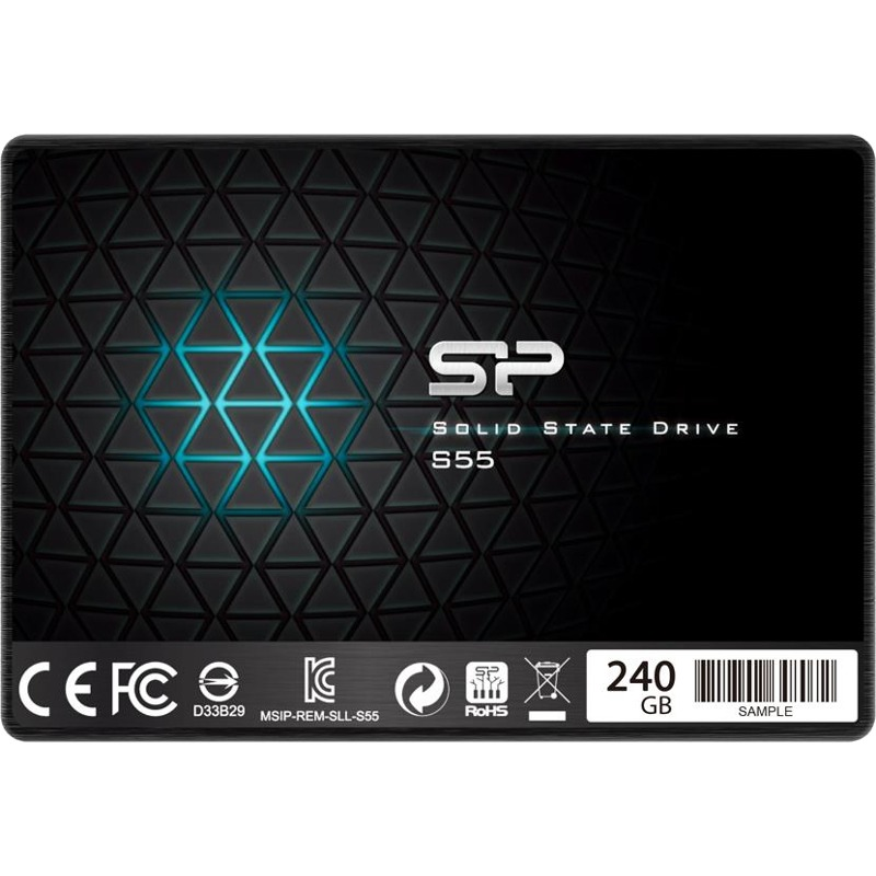 Hard Disk SSD Silicon Power Slim S55 240GB 2.5