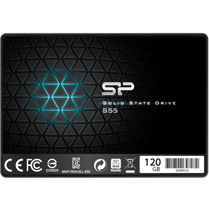 Hard Disk SSD Silicon Power Slim S55 120GB 2.5