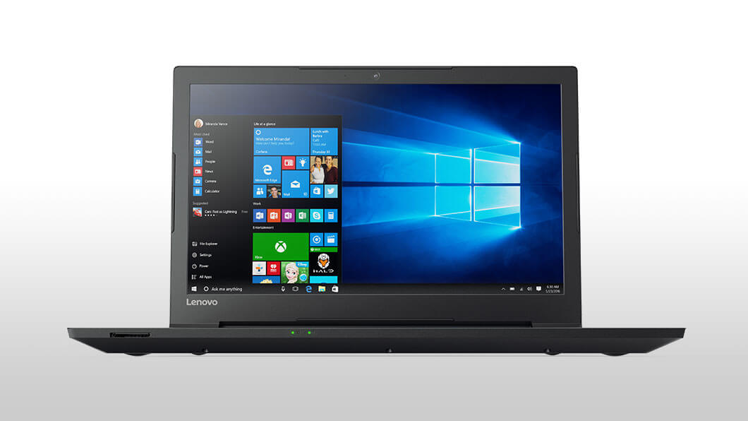 Notebook Lenovo V110 15.6 HD Intel Celeron N3350 RAM 4GB SSD 128GB FreeDOS Negru