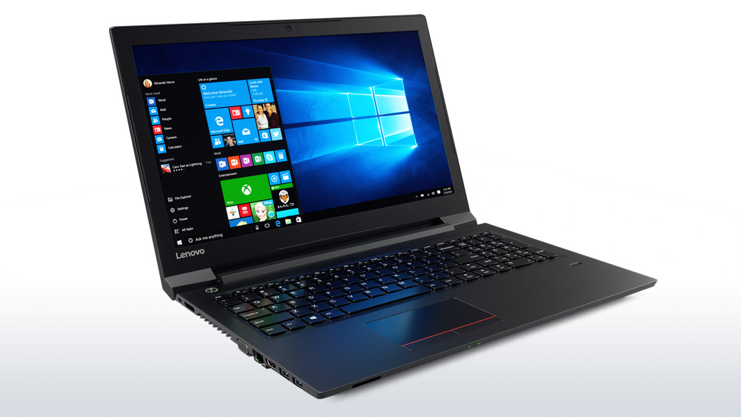 Notebook Lenovo V310 15.6 Full HD Intel Core i5-7200U RAM 8GB SSD 256GB Windows 10 Pro Negru