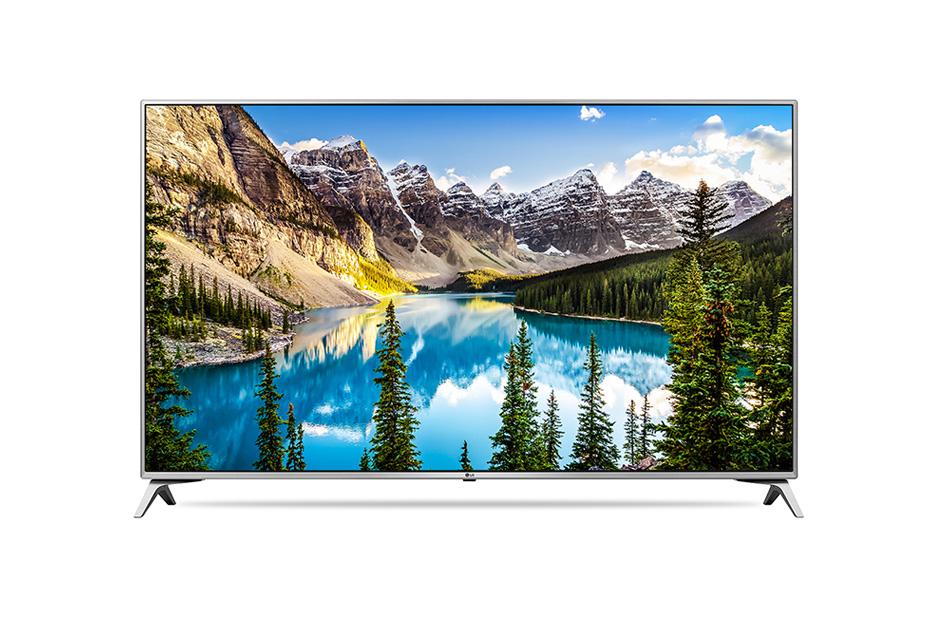 Televizor LED LG Smart TV 65UJ6517 164cm 4K UHD HDR Argintiu-Negru
