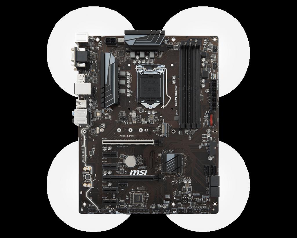 Placa de baza MSI Z370-A PRO Socket 1151