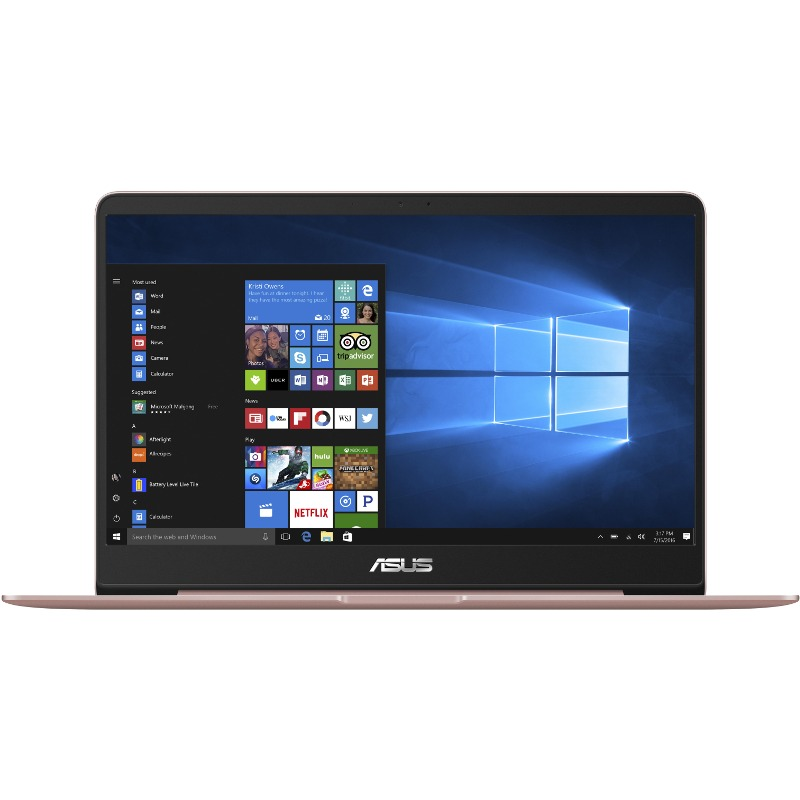 Ultrabook Asus ZenBook UX430UN 14 Full HD Intel Core i7-8550U MX150-2GB RAM 16GB SSD 256GB Windows 10 Home Roz