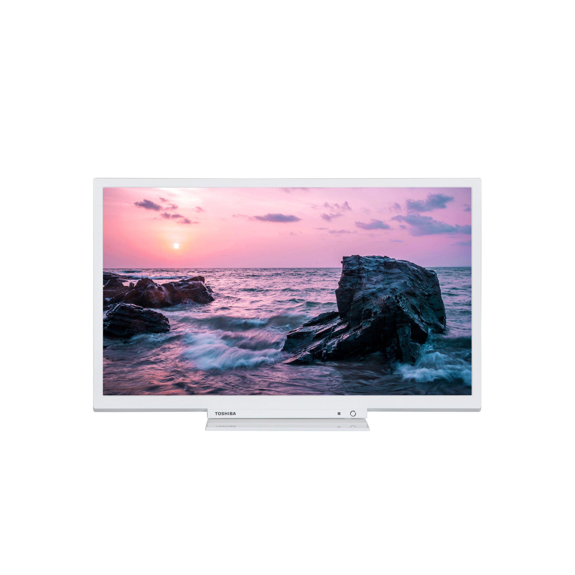 Televizor LED Toshiba 24W1754DG 61cm HD Ready Alb