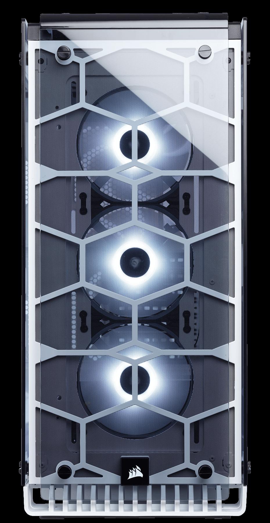 Carcasa PC Corsair Crystal Series 570X RGB White
