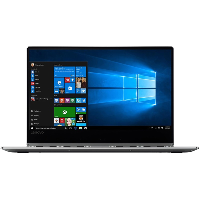 Ultrabook Lenovo Yoga 920 Glass 13.9 4K Touch Intel Core i7-8550U RAM 16GB SSD 512GB Windows 10 Home Platinum
