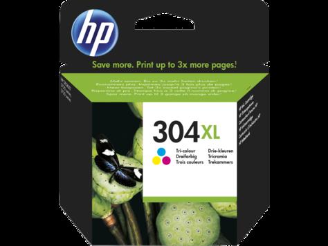 Cartus Inkjet HP 304XL Cyan Yellow Magenta 300 pagini