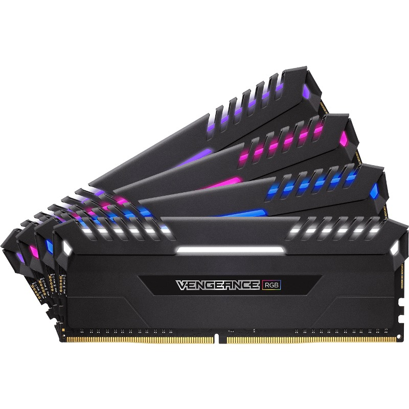 Memorie Desktop Corsair Vengeance RGB LED 32GB (4 x 8GB) DDR4 3200MHz