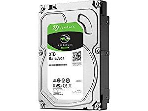 Hard Disk Desktop Seagate BarraCuda 3TB 5400RPM 256MB SATA III 3.5