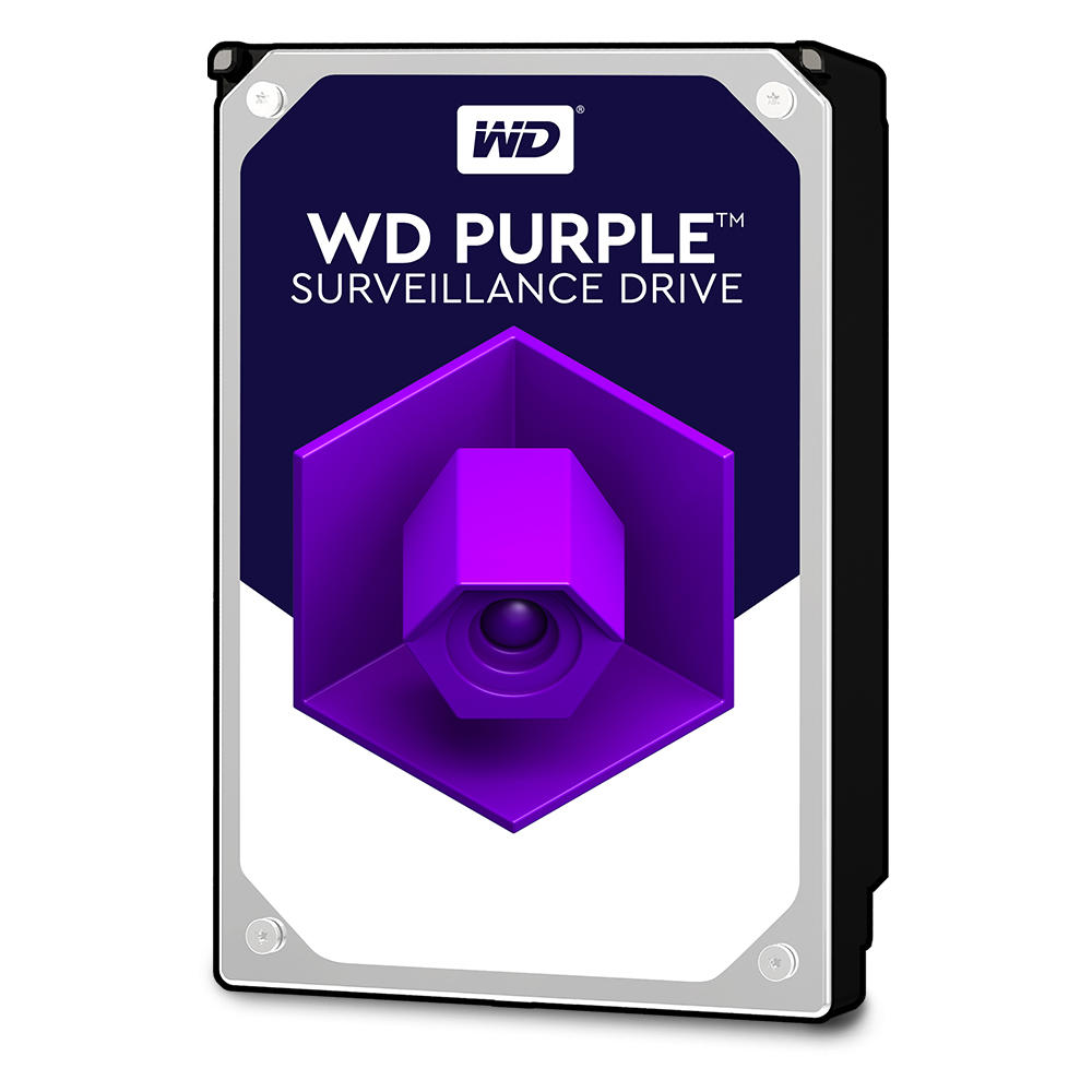 Hard Disk Desktop Western Digital WD Purple Surveillance 4TB 64MB SATA III