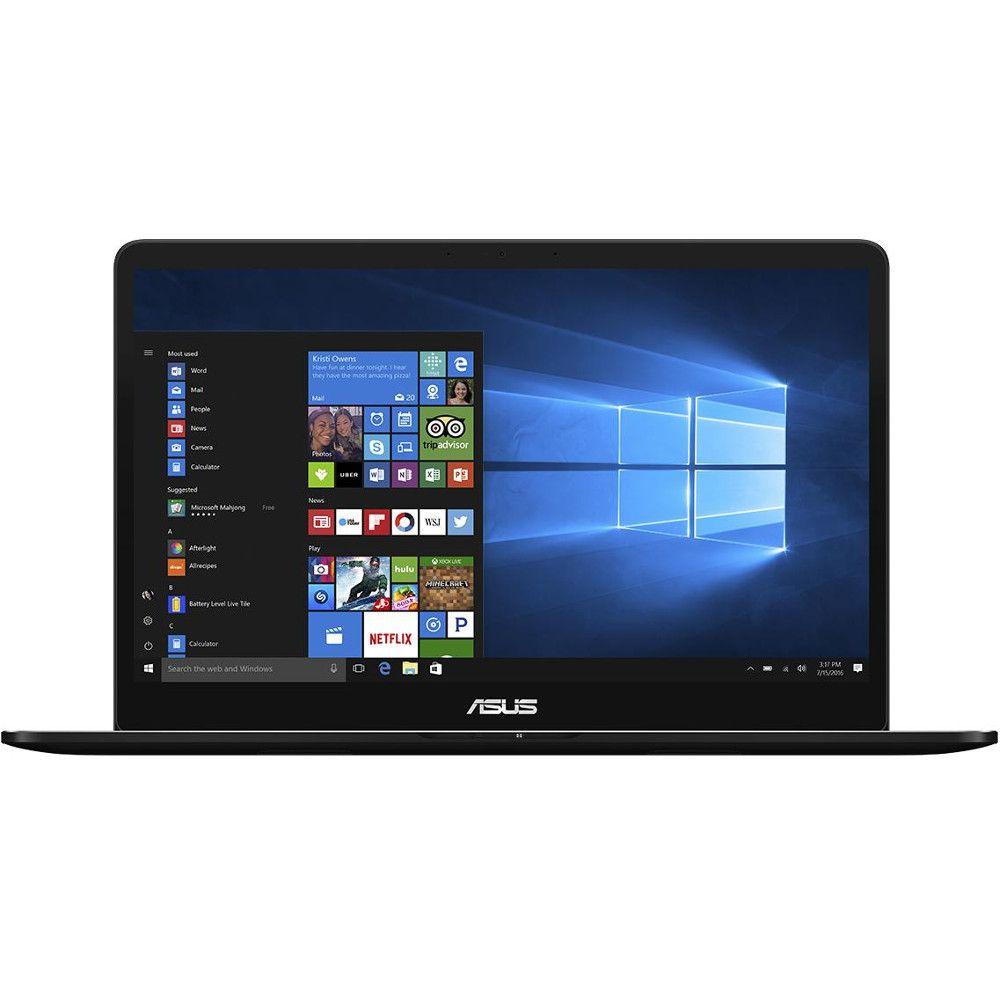 Ultrabook Asus ZenBook Pro UX550VD 15.6 Full HD Intel Core i7-7700HQ GTX 1050-4GB RAM 8GB SSD 256GB Windows 10 Home Negru