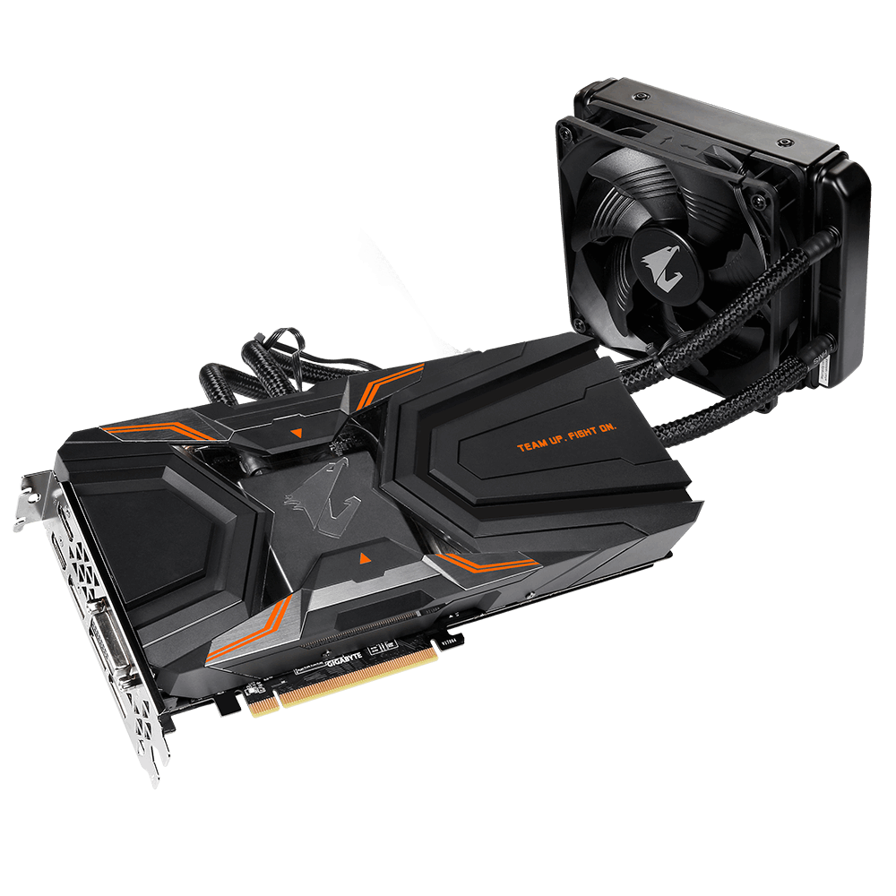Placa Video Gigabyte AORUS GeForce GTX 1080 Ti Waterforce Xtreme Edition 11G 11GB GDDR5X 352 biti rev 1.1
