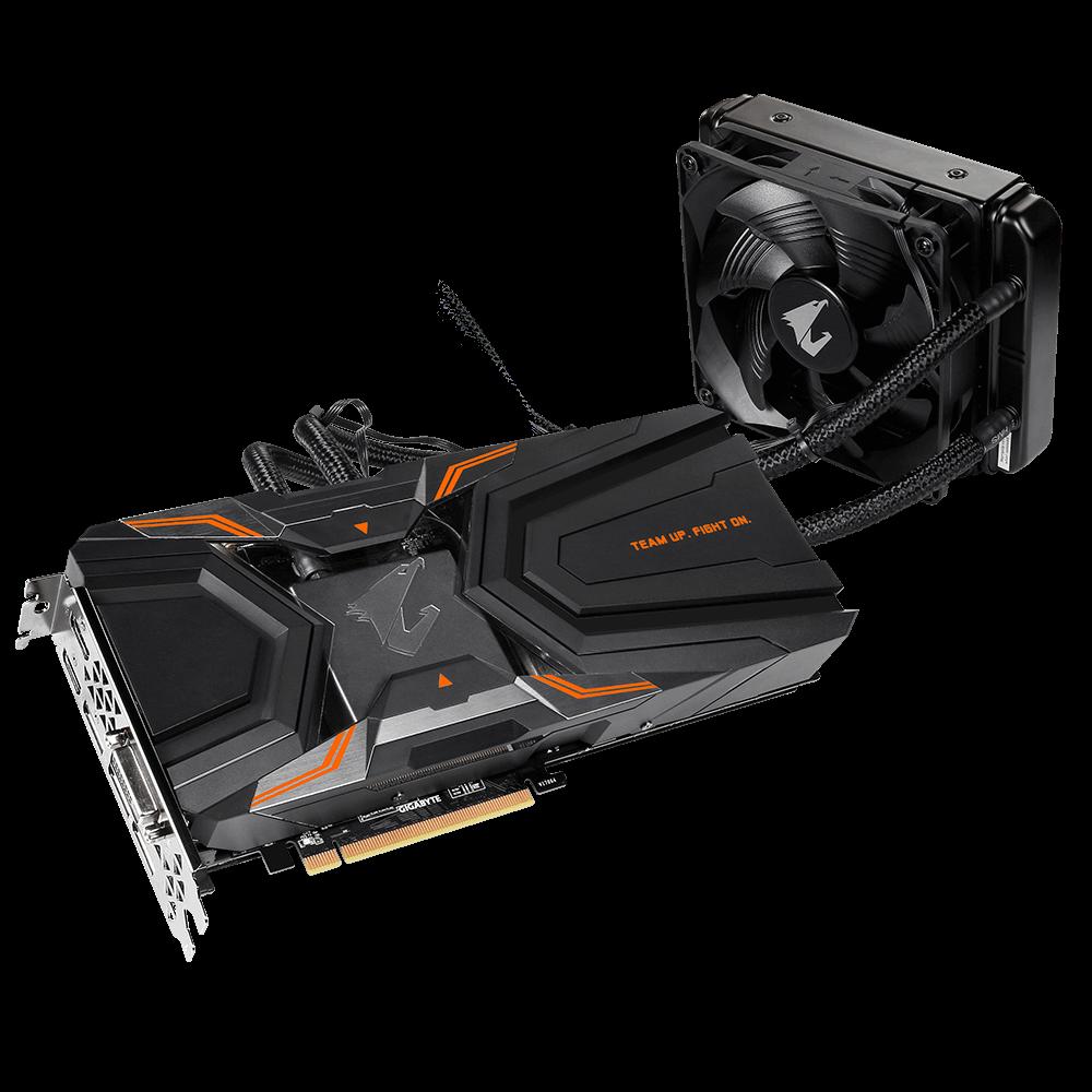 Placa Video Gigabyte AORUS GeForce GTX 1080 Ti Waterforce Xtreme Edition 11G 11GB GDDR5X 352 biti rev 1.1