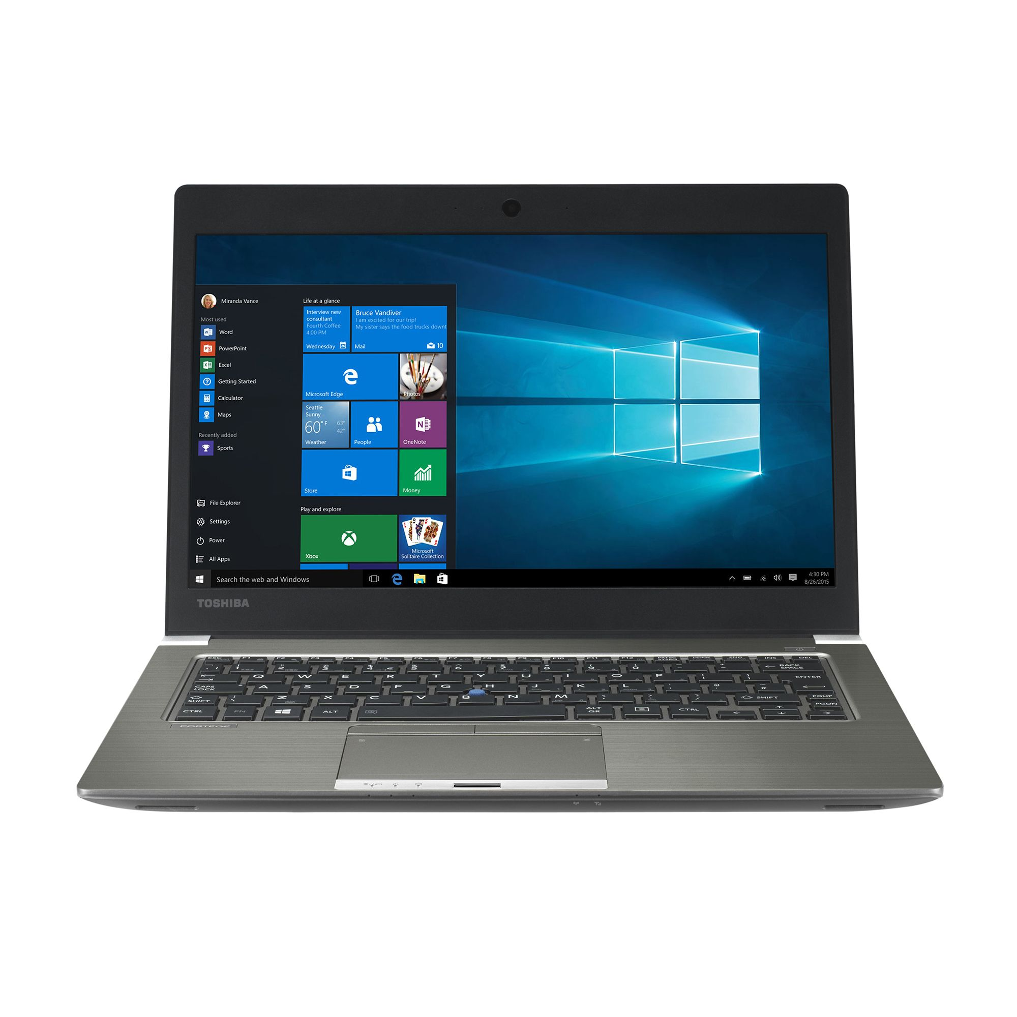 Ultrabook Toshiba Portege Z30t-C-133 13.3 Full HD Intel Core i7-6500U RAM 16GB SSD 512GB 4G Windows 10 Pro