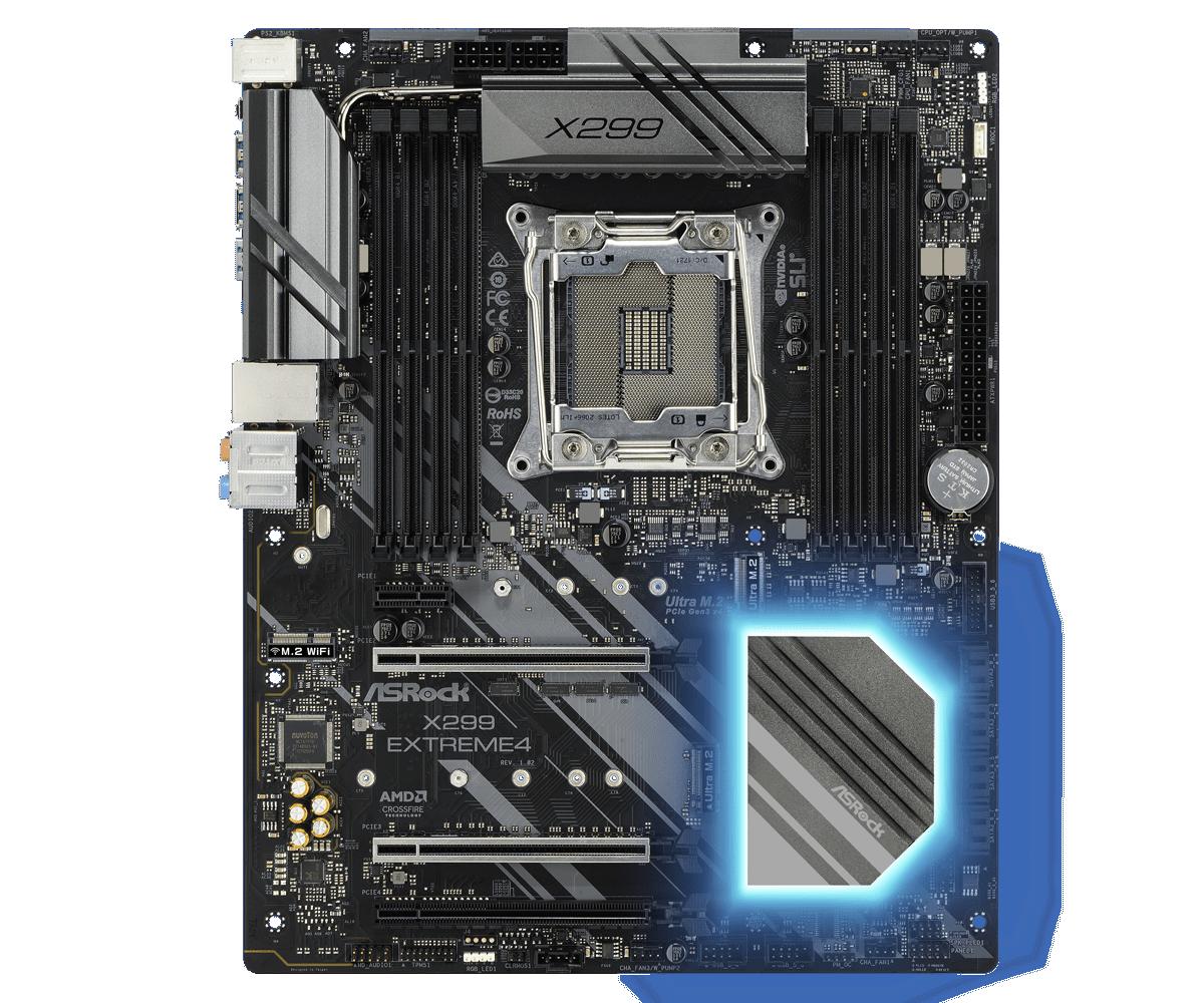 Placa de baza ASRock X299 EXTREME4 Socket 2066