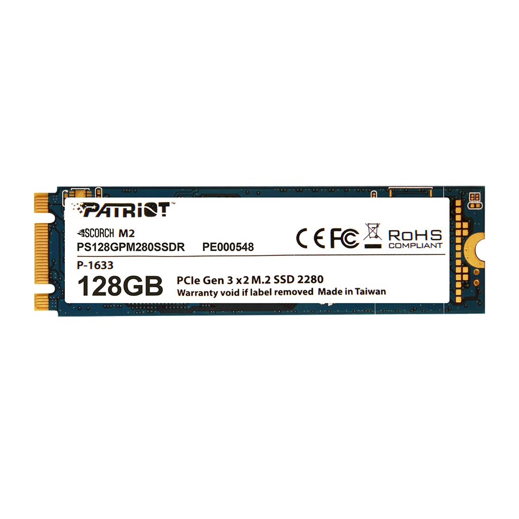 Hard Disk SSD Patriot Scorch 128GB M.2 2280