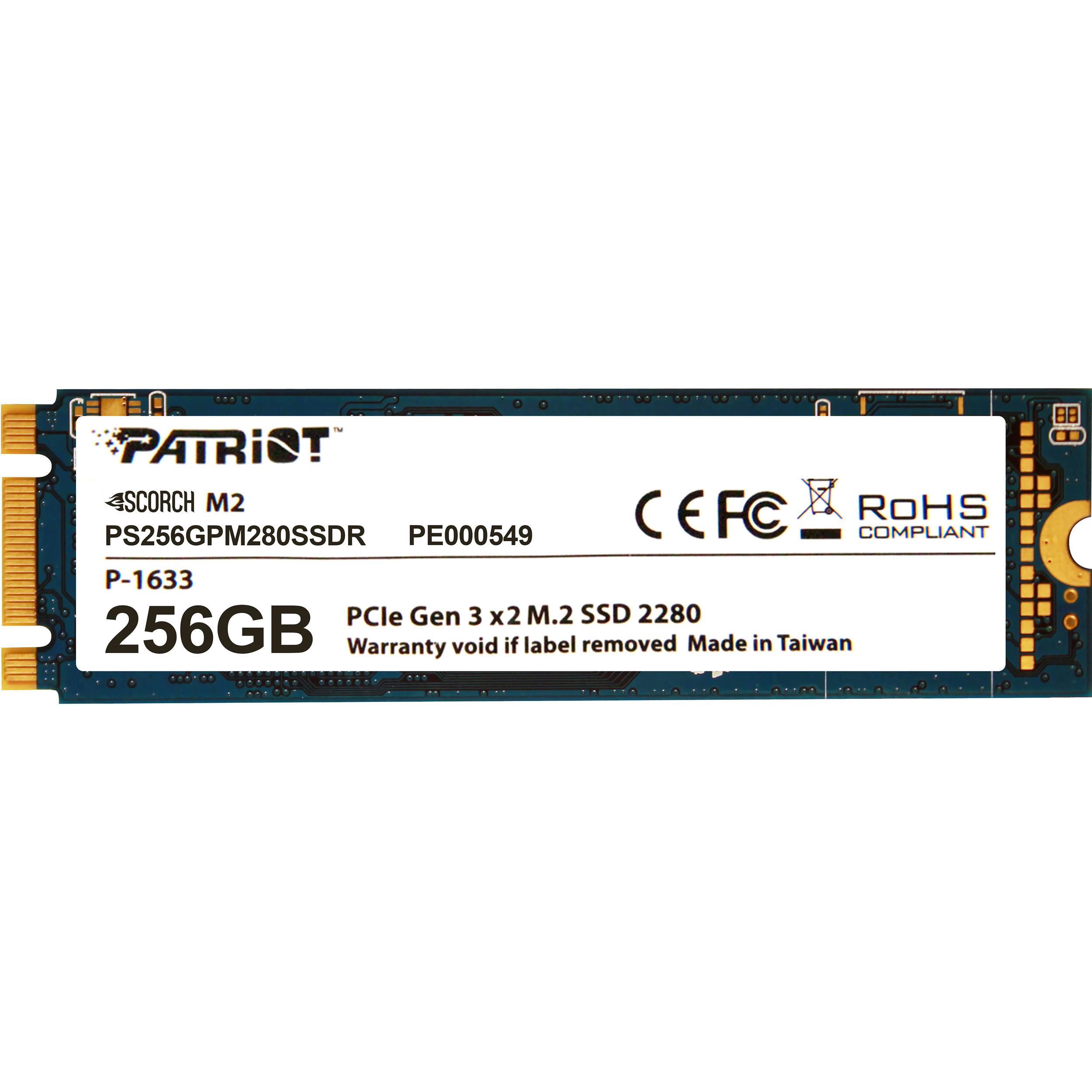 Hard Disk SSD Patriot Scorch 256GB M2 2280