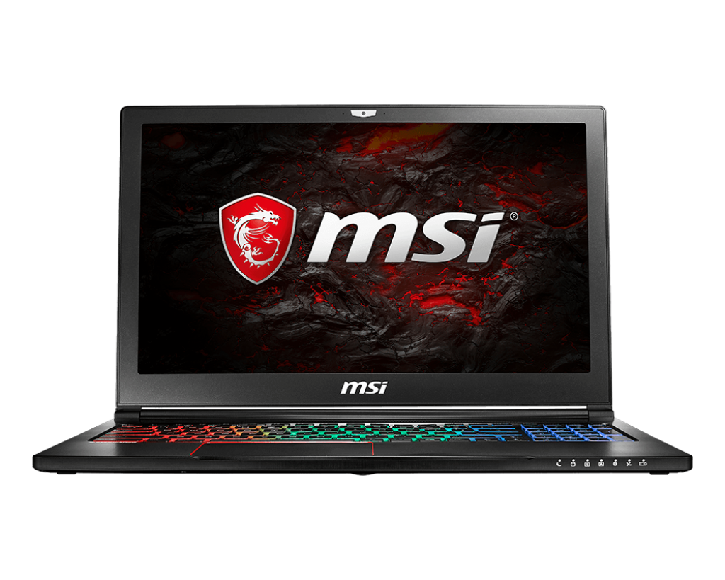 Notebook MSI GS63 7RD Stealth 15.6 Full HD Intel Core i7-7700HQ GTX 1050-2GB RAM 8GB SSD 256GB FreeDOS Negru