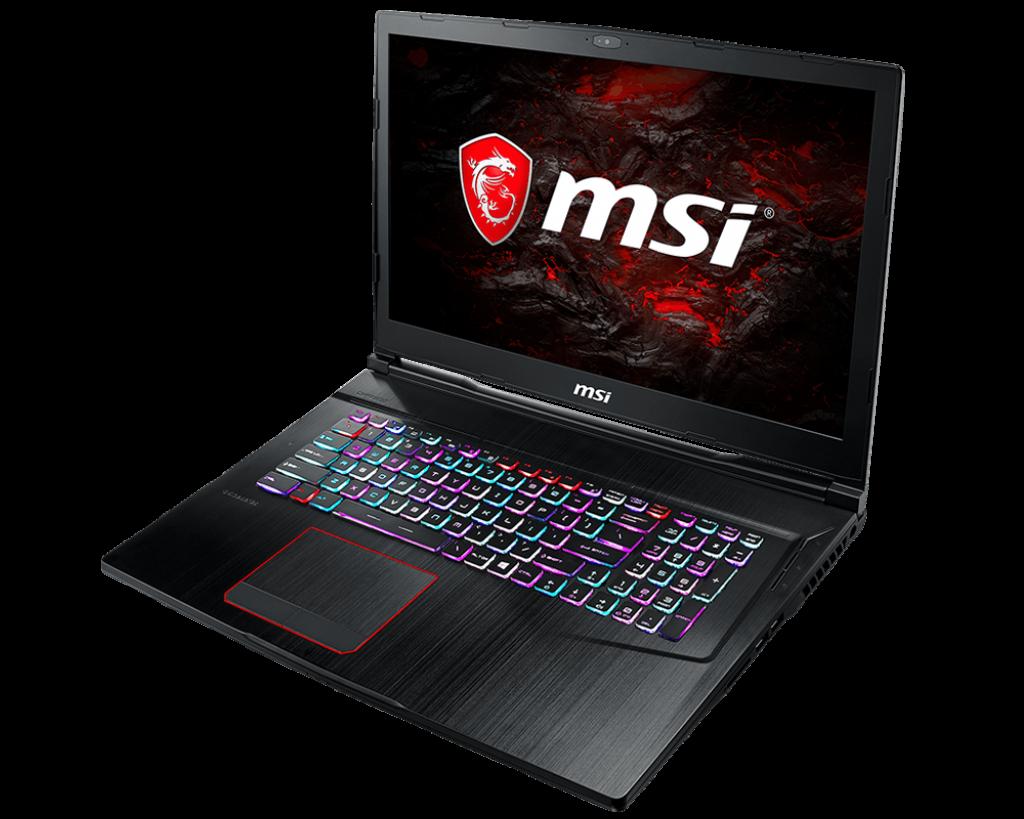 Notebook MSI GE73VR 7RE Raider 17.3 Full HD Intel Core i7-7700HQ GTX 1060-6GB RAM 16GB HDD 1TB + SSD 256GB FreeDOS Negru