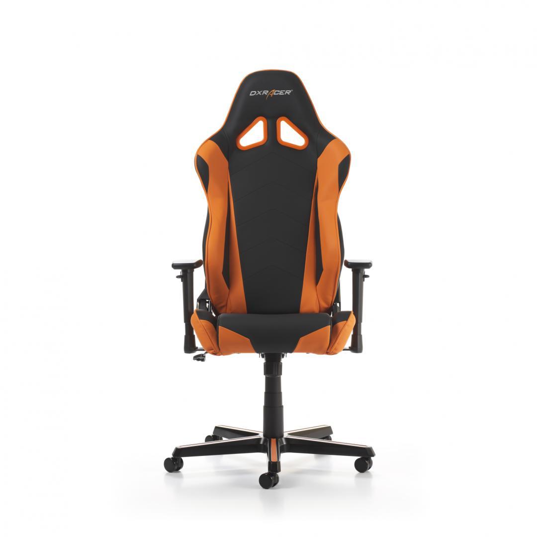 Scaun Gaming DXRacer Racing R0-NO Negru-Portocaliu