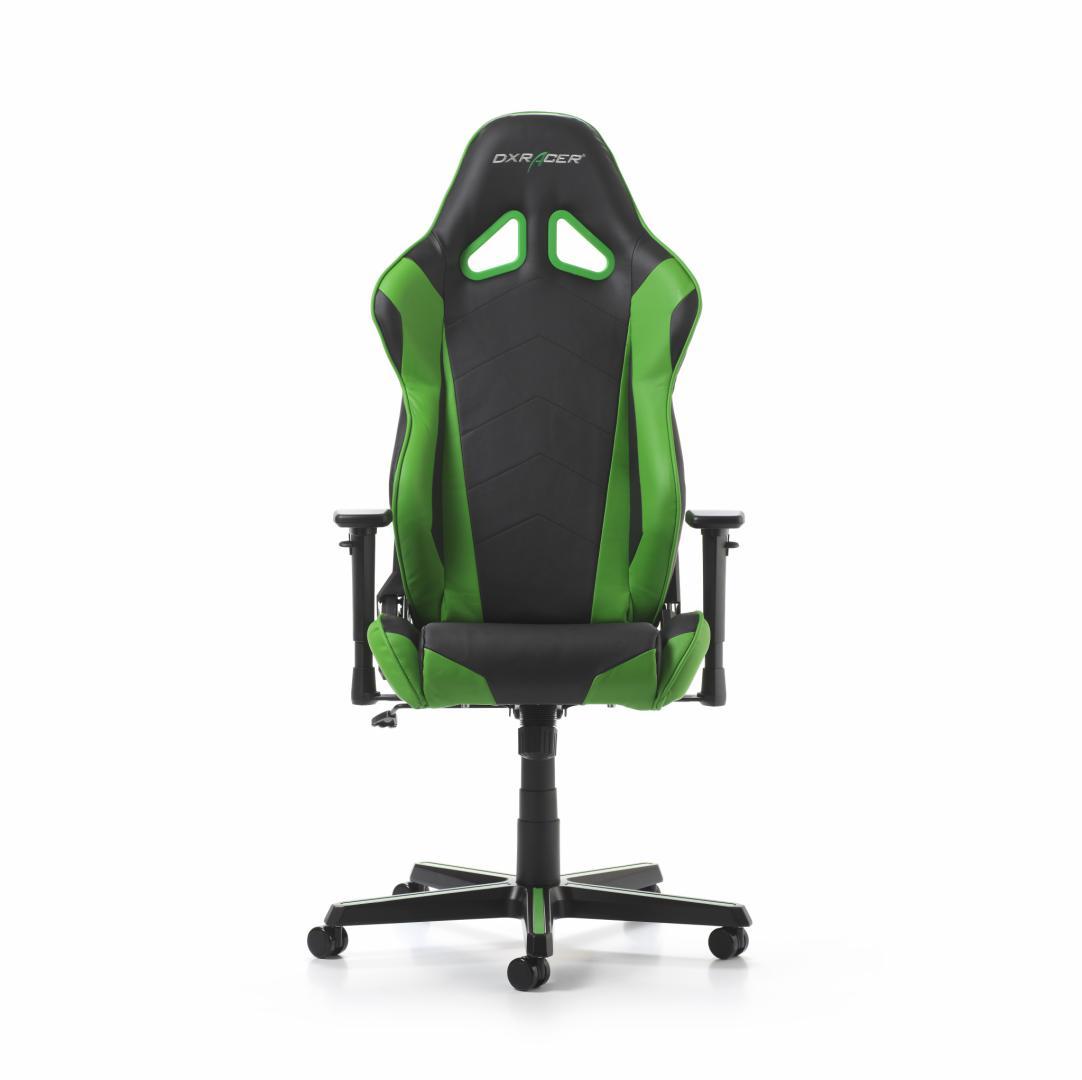 Scaun Gaming DXRacer Racing R0-NE Negru-Verde
