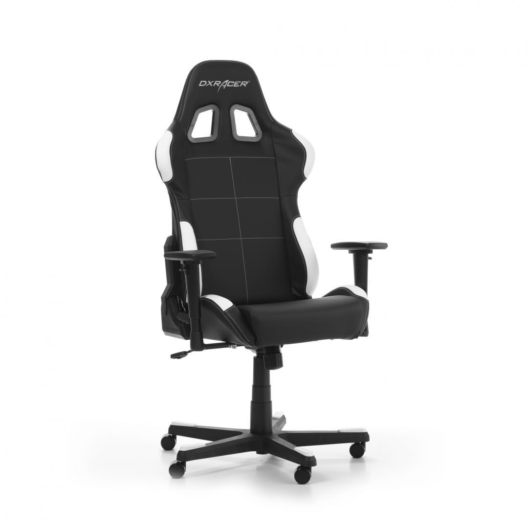 Scaun Gaming DXRacer Formula F99-NW Negru-Alb