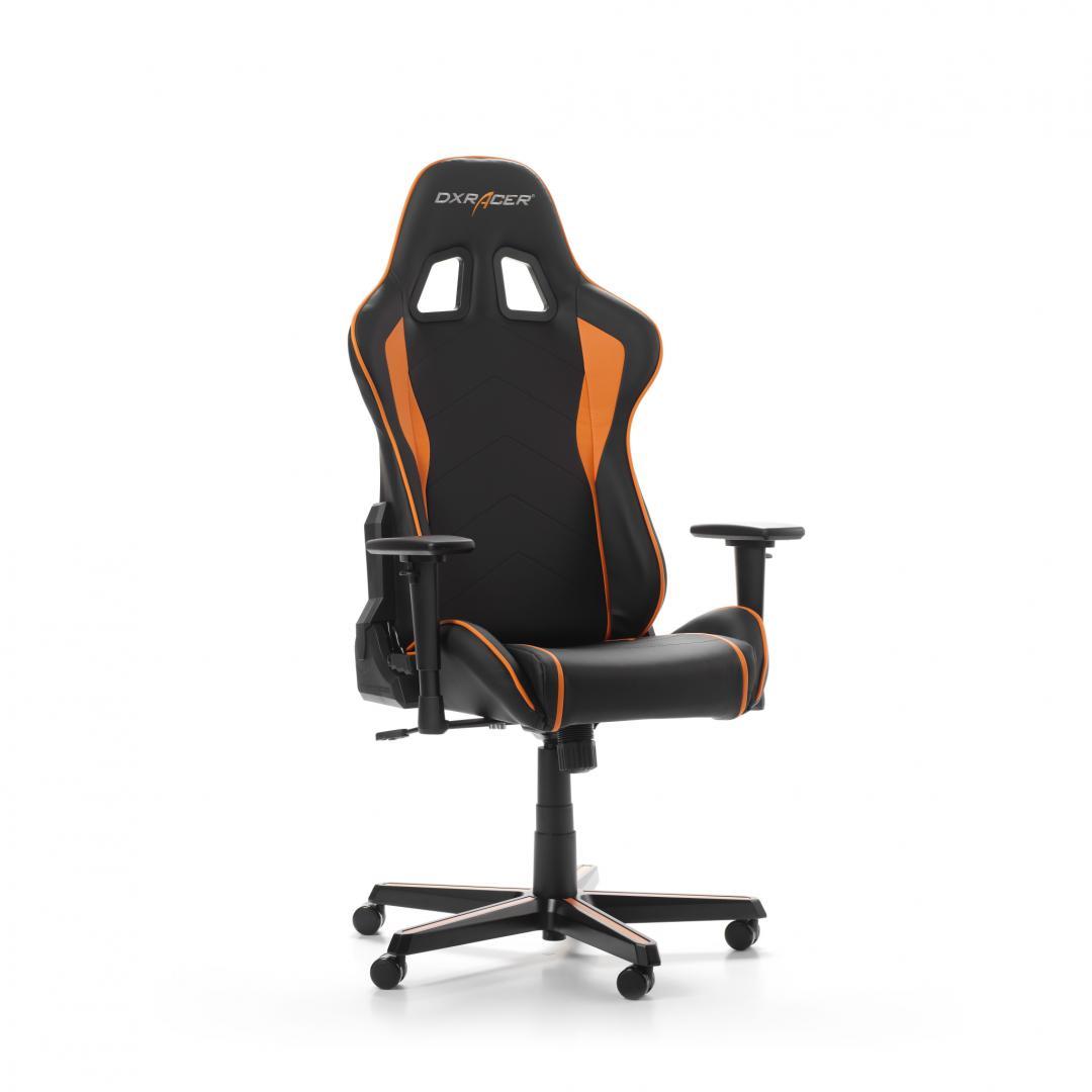 Scaun Gaming DXRacer Formula F08-NO Negru-Portocaliu