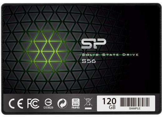 Hard Disk SSD Silicon Power Slim S56 120GB 2.5