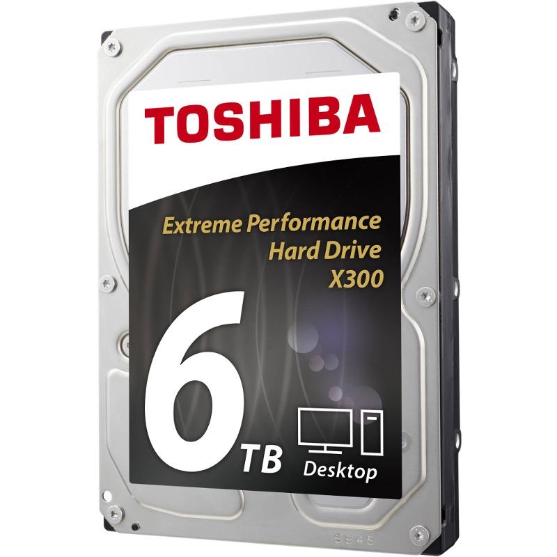 Hard Disk Desktop Toshiba X300 6TB SATA3 7200RPM 128MB bulk