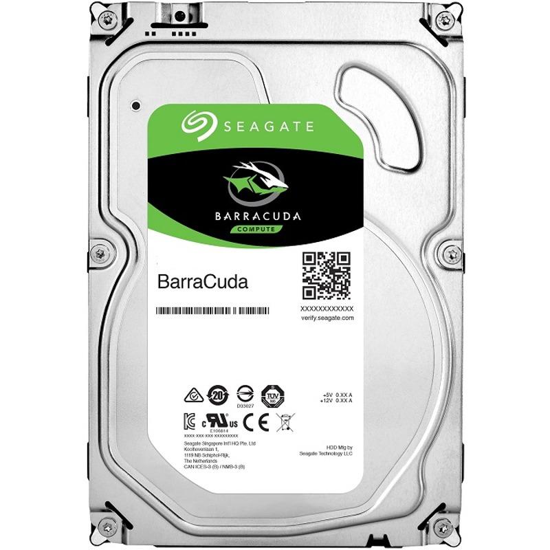 Hard Disk Desktop Seagate BarraCuda 6TB 5400RPM 256MB SATA III
