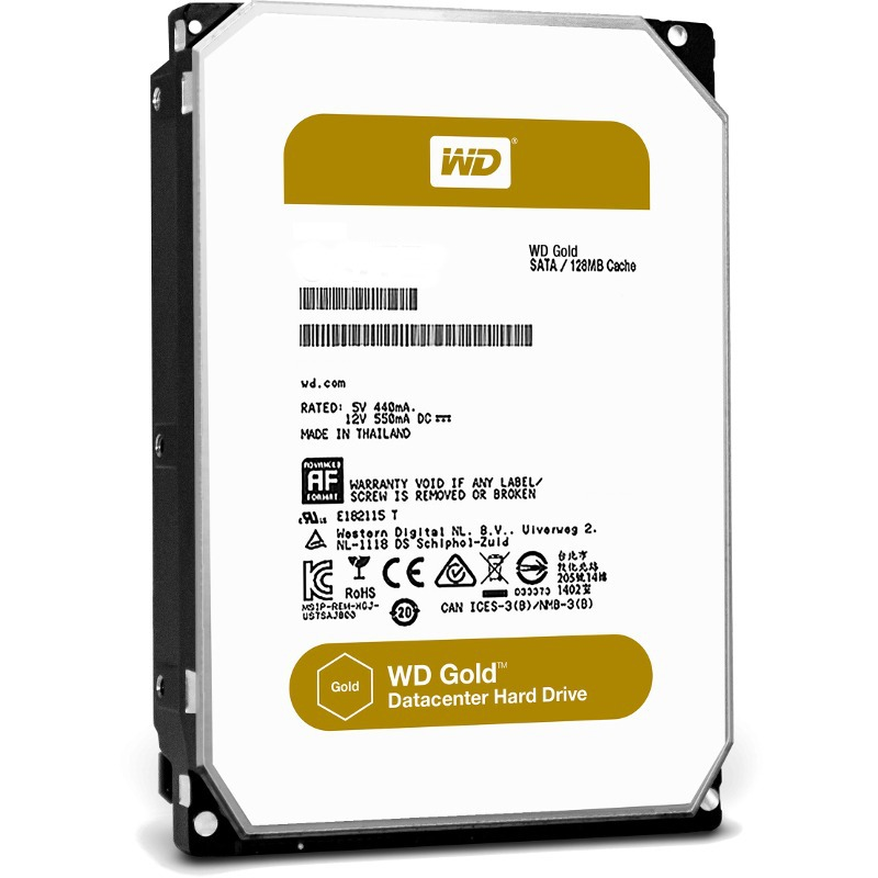 Hard Disk Server Western Digital Gold 2TB 3.5 SATA3 128MB