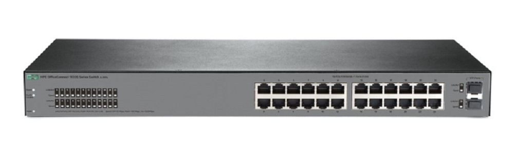 Switch HPE OfficeConnect 1920S 24G fara management fara PoE 24x1000Mbps-RJ45 + 2xSFP