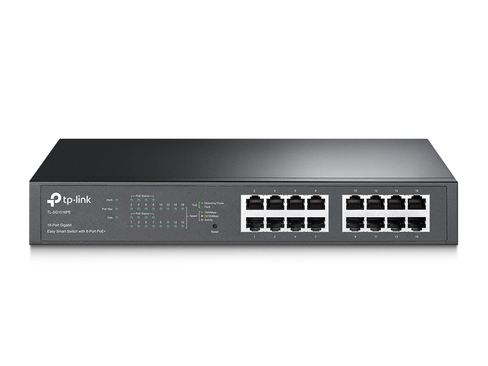 Switch TP-Link TL-SG1016PE 16xGigabit