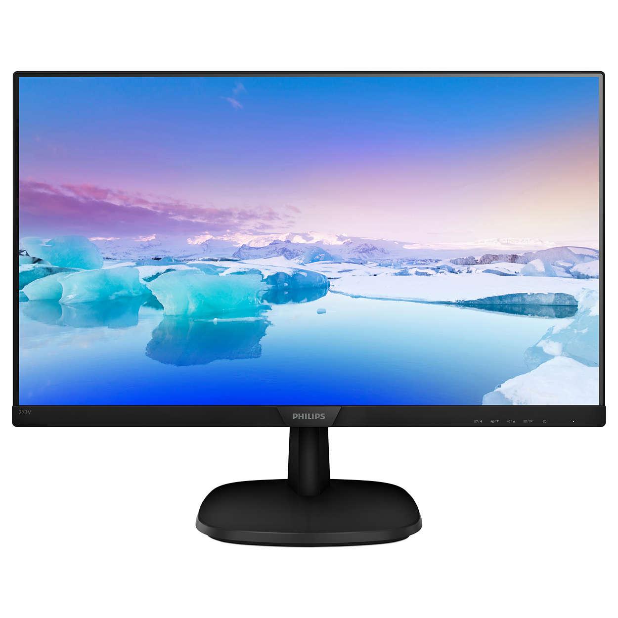 Monitor LED Philips 273V7QJAB/00 27 5ms Full HD Negru