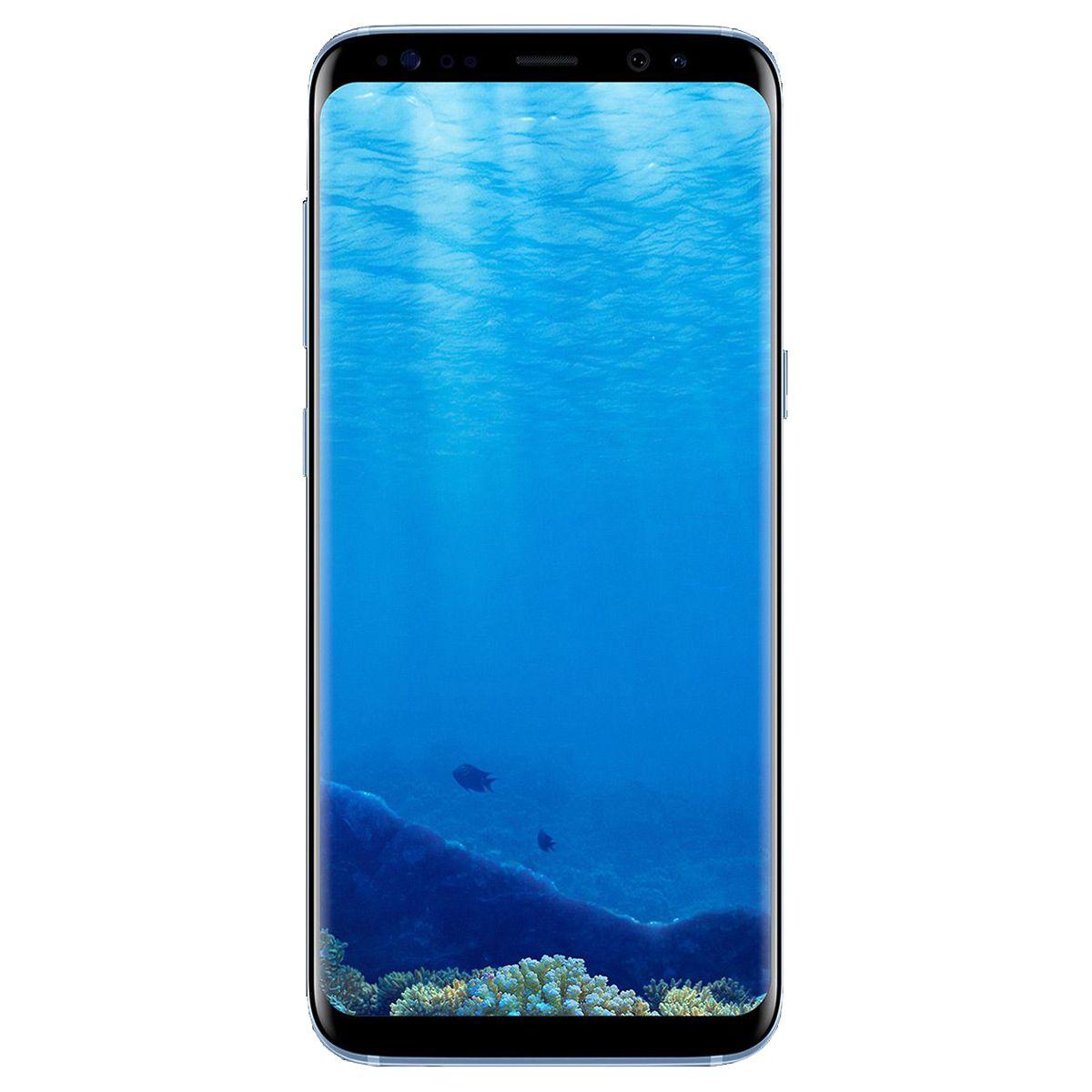 Telefon Mobil Samsung Galaxy S8 Plus G955 64GB Flash 4GB RAM Single SIM 4G Blue