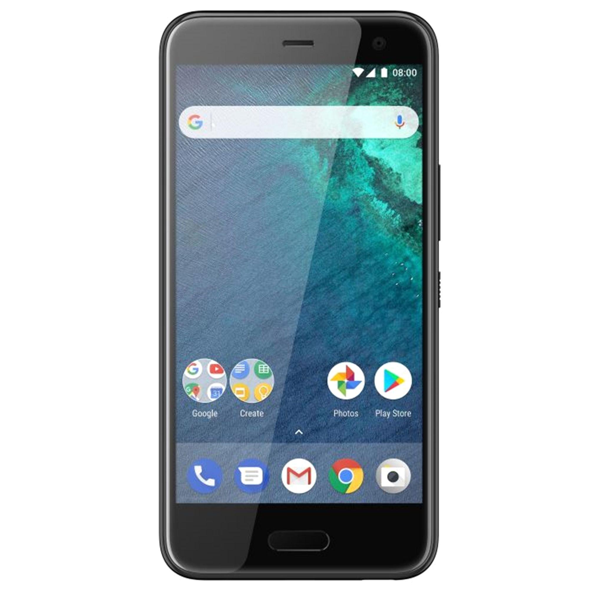 Telefon Mobil HTC U11 Life 32GB Flash 3GB RAM Single SIM 4G Brilliant Black