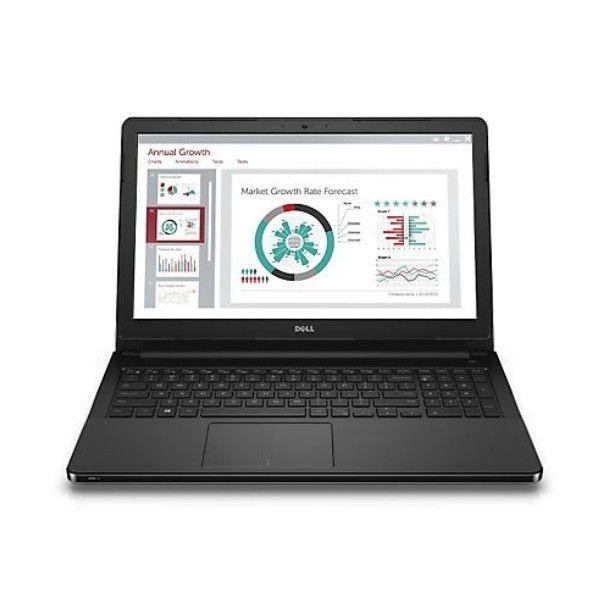 Notebook Dell Vostro 3568 15.6 Full HD Intel Core i3-6006U RAM 4GB HDD 1TB Windows 10 Pro Negru
