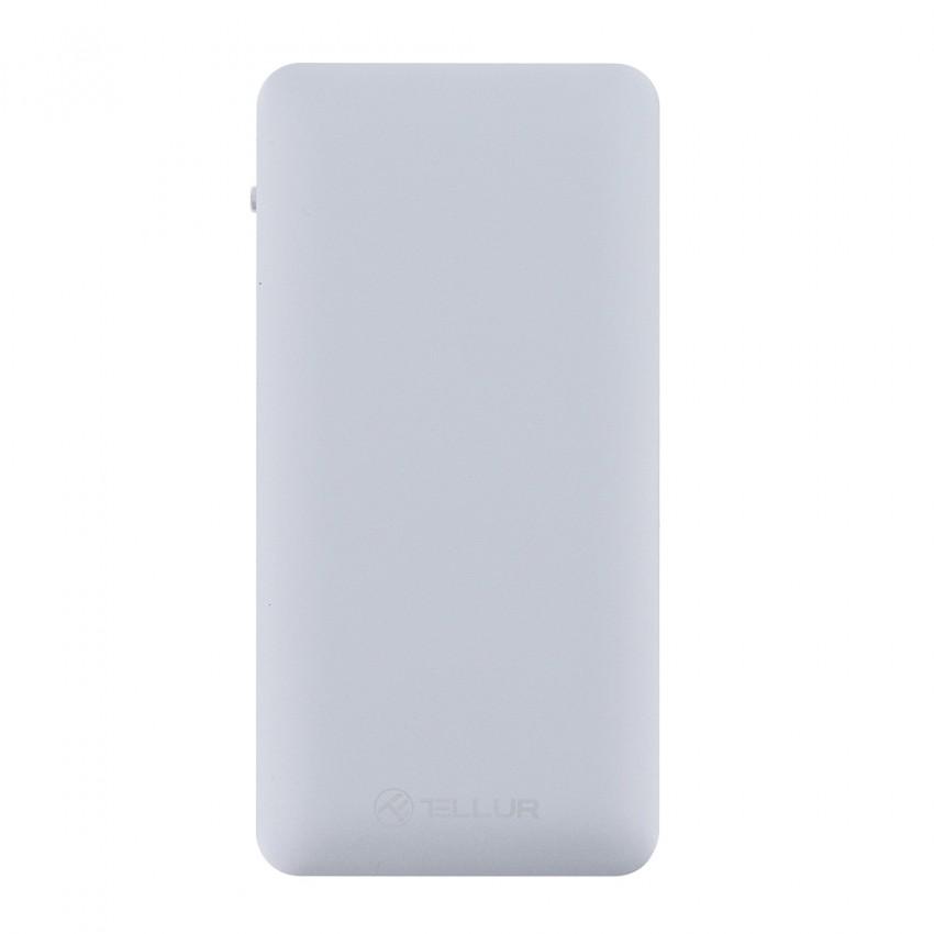 Baterie Externa Tellur QC 3.0 10000 mAh Argintiu