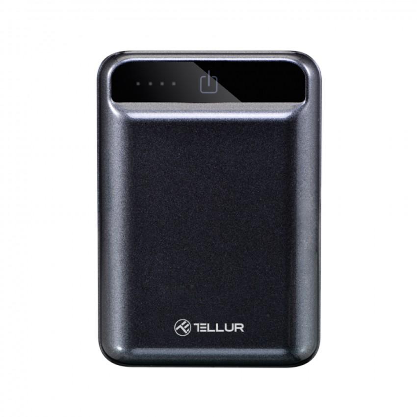 Baterie Externa Tellur Compacta 10000 mAh Negru
