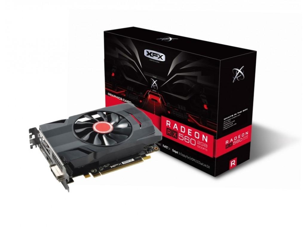 Placa Video XFX Radeon RX 560D 2GB GDDR5 128 biti