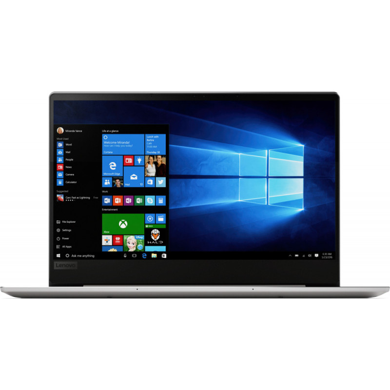 Ultrabook Lenovo IdeaPad 720S 13.3 Full HD Intel Core i7-8550U RAM 8GB SSD 256GB Windows 10 Home Argintiu