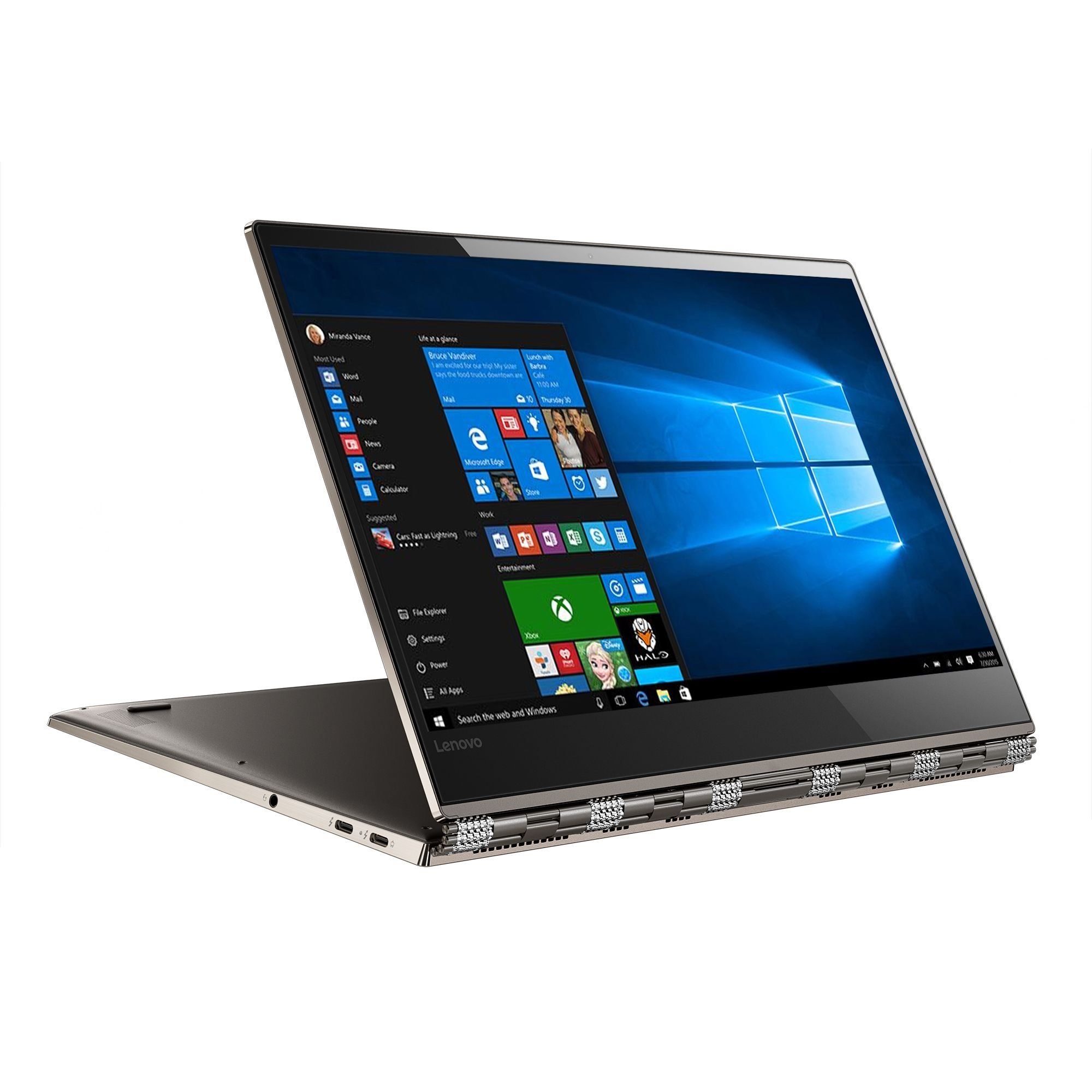 Ultrabook Lenovo Yoga 920 13.9 Full HD Touch Intel Core i7-8550U RAM 8GB SSD 512GB Windows 10 Home Bronze