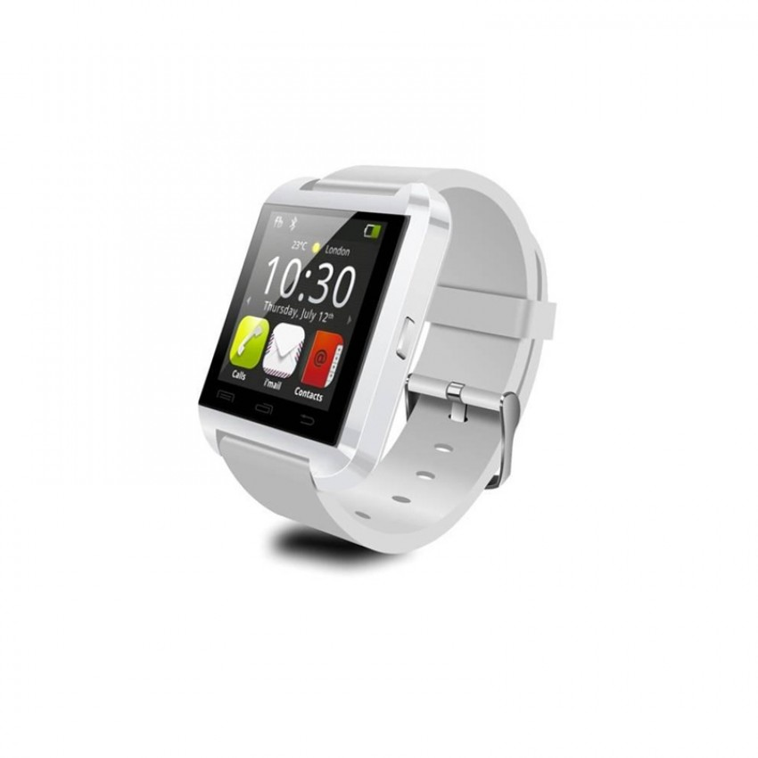 Smartwatch Tellur Bluetooth U8 Alb