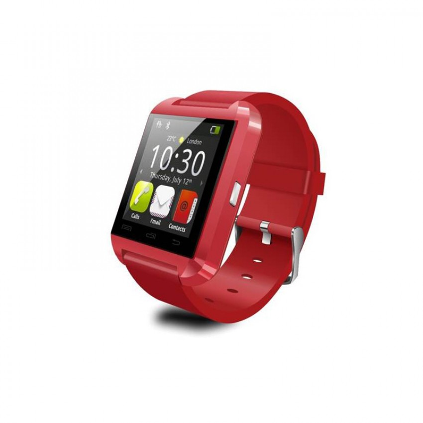 Smartwatch Tellur Bluetooth U8 Rosu